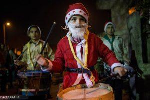 کریسمس در محله مسیحیان دمشق