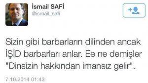 حمایت نفرت پرافکن های قوم گرا و نماینده های ترکیه از داعش
