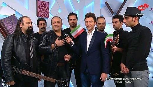 درخشش گروه موسیقی تبریزی در مسابقات بین المللی ترک ویژن