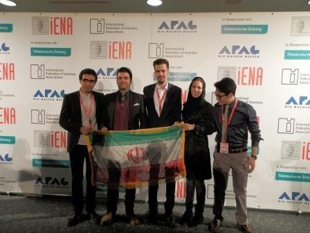 درخشش دانشجویان بنابی در مسابقات جهانی اختراعات در آلمان