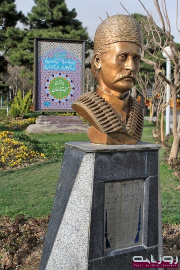 برخی از اسامی بزرگان آذربایجان در خیابان های تهران و اصفهان