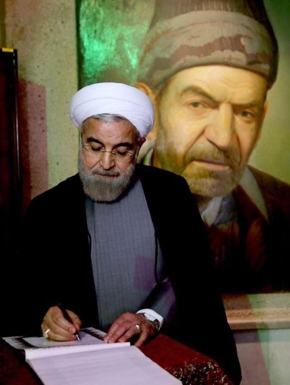 """گشایش """"بنیاد فرهنگ و ادب آذری"""" توسط رئیس جمهوری در تبریز"""