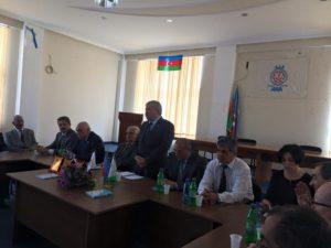 باکو؛ صابر رستمخانلی و چند نفر دیگر، نشست ضد ایرانی برگزار کردند
