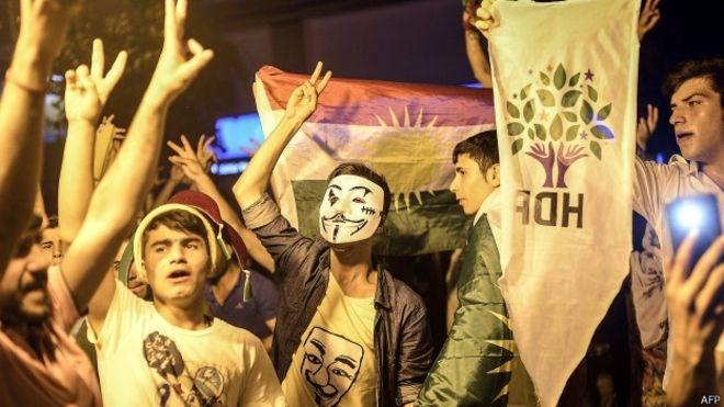 شکست اردوغان، پیروزی قومی گرایی کرد و ترک