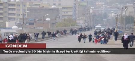 ترکیه گرفتارجنگ داخلی، خندق ، اشغال و کوچ اجباری کردها