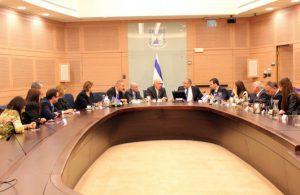 هیاتی از پارلمان باکو نخستین بار با رییس کنست اسرائیل دیدار کرد