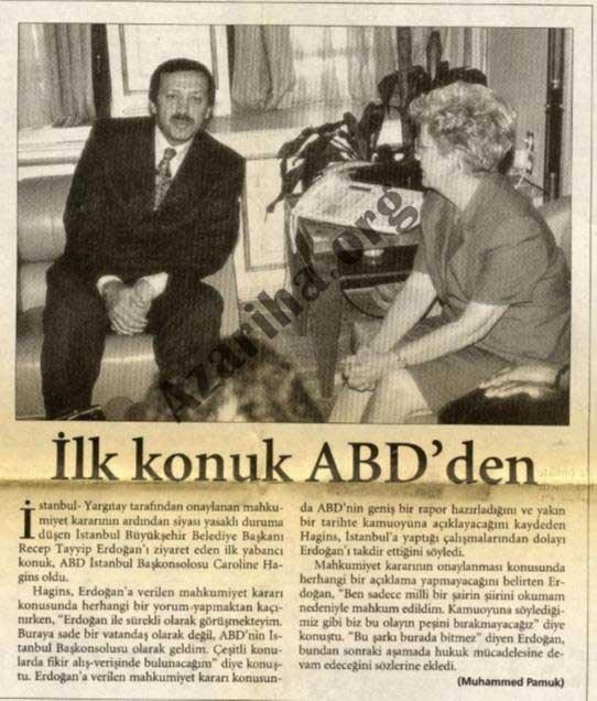 دیپلماتهای غربی در محاکمه اردوغان نیز شرکت کرده بودند