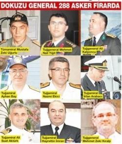 پناهندگی شصت افسر ارشد و ژنرال ارتش ترکیه به پ ک ک