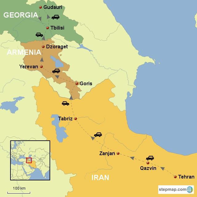 لغو روادید با گرجستان و ارمنستان