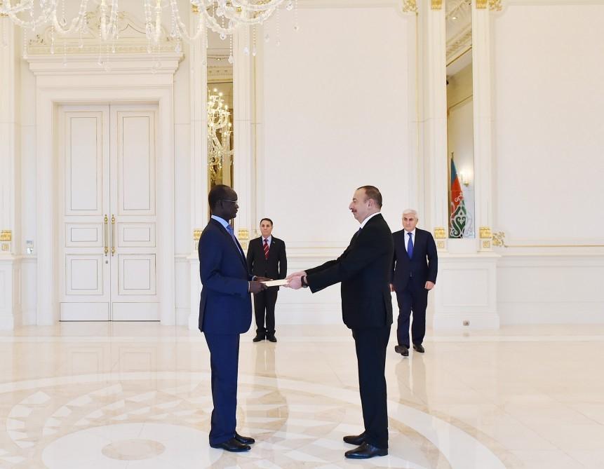 الهام علی اف، خواستار گسترش روابط این کشور با «سودان جنوبی»