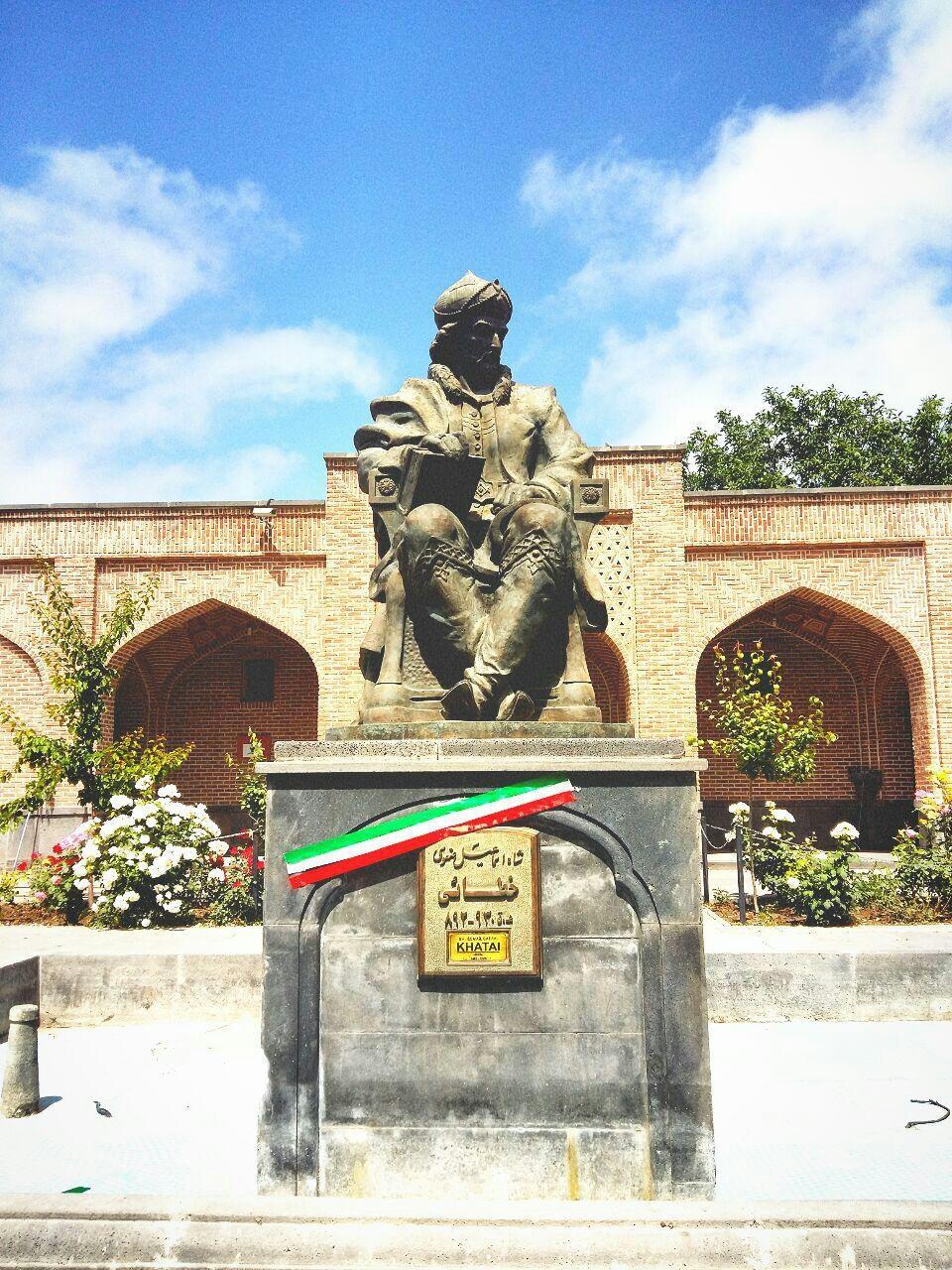 تندیس شاه اسماعیل،شیخ صفی اردبیل