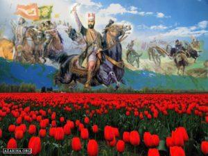 سخنرانی نادر در دشت مغان به روایت تاریخجهانگشاینادری
