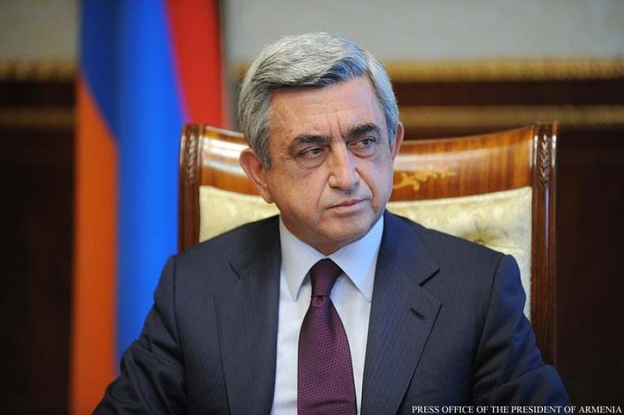 گفتوگو با رئیسجمهور ارمنستان در آستانه سفر به ایران: ارمنستان دروازه امن به اروپا