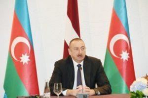 علی اف: روابط باکو با اتحادیه اروپا و ناتو گسترش خواهد یافت