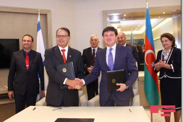 سند همکاری شهرهای «غَبَله» جمهوری باکو و «یقنعم» اسرائیل امضاء شد