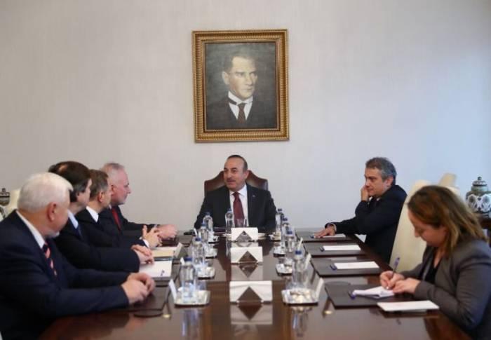 دیدار گروه مینسک با وزیرخارجه ترکیه