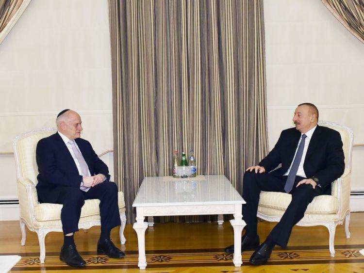 انتخاب رئیس جمهور باکو به عنوان مدیر اجرایی نشست سران مجامع یهودیان آمریکا