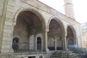 ادامه روند بازسازی مسجد ایرانی «شوشی» در قراباغ کوهستانی