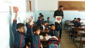 گروه موسوم به«تشکیلات مقاومت ملی آذربایجانی جنوبی» و اقدام به توزیع آزادانه کتاب در دبستان ها و برگزاری میتینگ در مدارس اردبیل