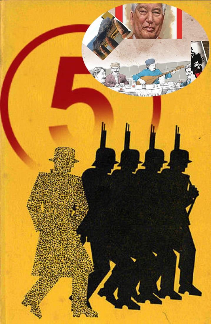 عرضه نشریات پان ترکیستی به نصف قیمت بازار/ جولان مجلات «ستون پنجم»در نواحی مرزی و استراتژیک