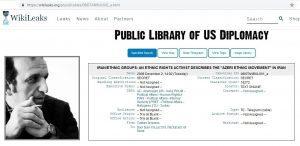 سند ویکی لیکس در خصوص دیدار و گفتگوی علی حامد ایمان،با ماموران آمریکایی