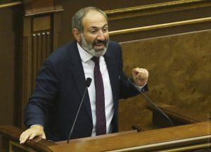 دفاع پاشینیان از رابطه با جمهوری اسلامی ایران در پارلمان اروپا