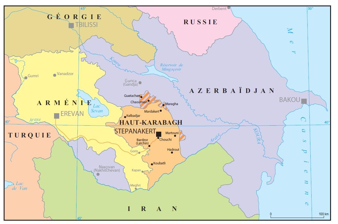 کشته شدن سرباز رژیم باکو در منطقه تماس «ترتر»