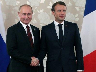 مکرون و پوتین در مورد مناقشه قراباغ کوهستانی مذاکره کردند