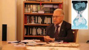 مجموعه اسناد ویکیلیس درباره وابستگی جریان قومی آذربایجان به بیگانگان