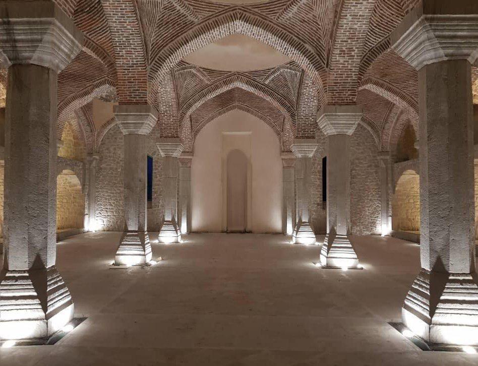 بازگشایی مسجد ایرانی شوشی پس سه دهه: مسجد گوهرآغا بازسازی شد+فیلم