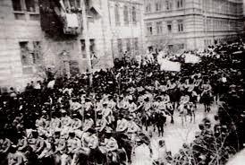 """روایت رسمی در باکو، روز اشغال باکو توسط قشون عثمانی را """"روز آزادی"""" می نامد"""
