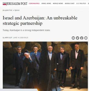 اورشلیم پُست: همکاری استراتژیک اسرائیل و جمهوری آذربایجان