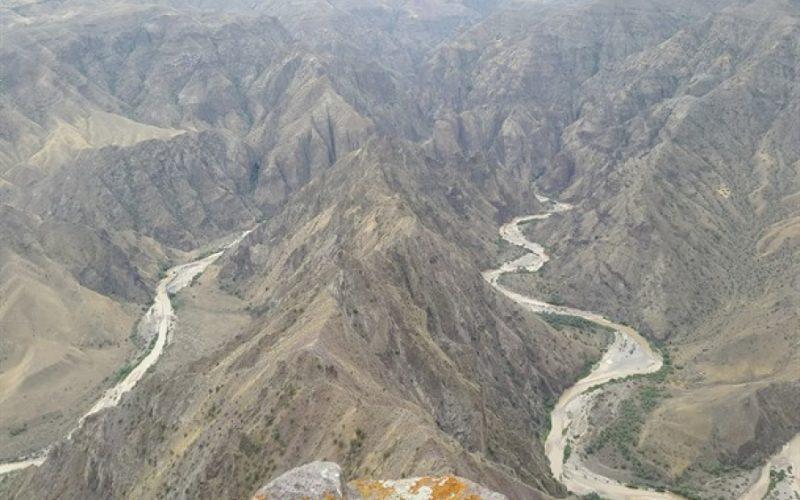 بررسی جغرافیای زبان ترکی در سواحل ارس و سپیدرود از کوهستان تا دریا