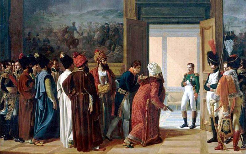 نسخه اصلی معاهده تاریخی فینکنشتاین (فارسی و فرانسه)